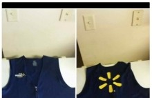 Guy tries to sell Walmart vest to black friday shoppers.  Internet is not having any of it (12 Pictures)