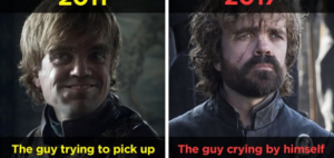 Game Of Thrones Characters' Evolution In 7 Seasons (10 Pictures)