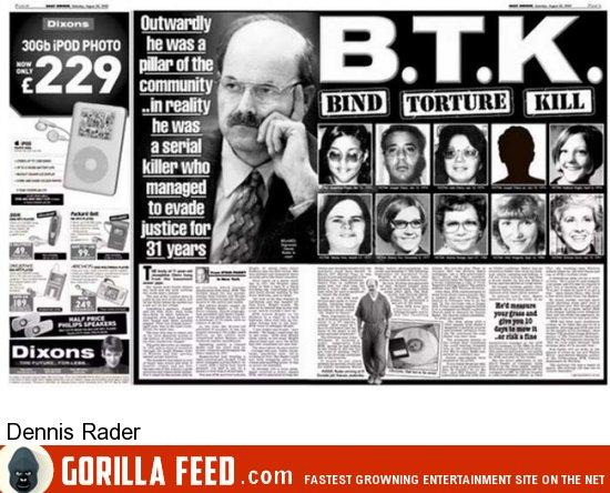 zodiac killer and btk The zodiac killer discussion board, learn about the zodiac killer.