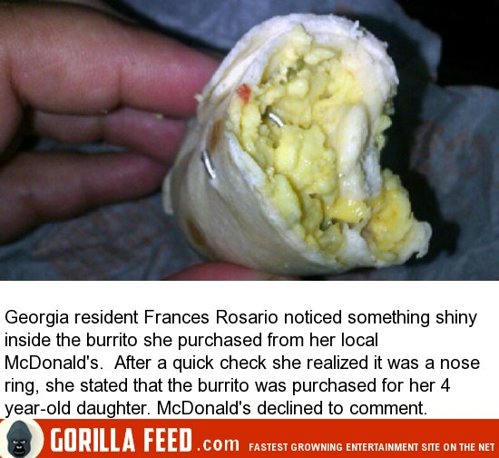 11 Seriously Disgusting Things Found In Fast Food (11