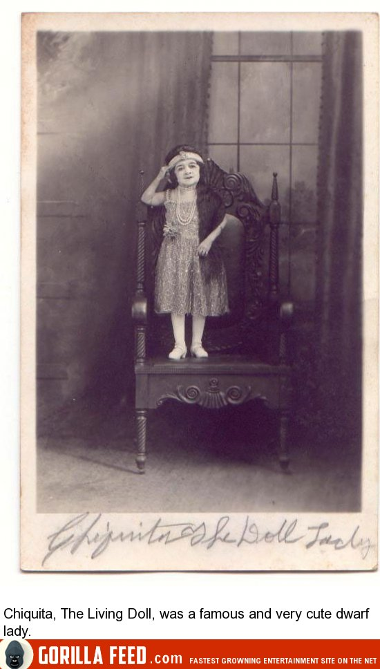 My Brothers Place >> 14 Vintage Freak Show Performers (14 Pictures) | Gorilla Feed
