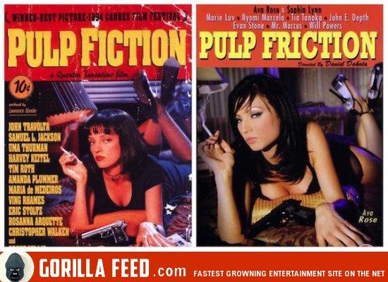 Порно породии pulp friction