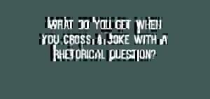 Sophisticated jokes