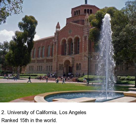 University Of California Los: Top 10 Ranked Public Colleges In The US (10 Pictures